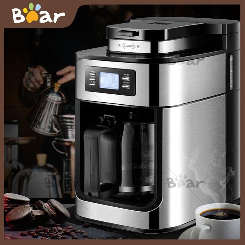 Bear เครื่องบดกาแฟ เครื่องบดเมล็ดกาแฟเครื่องทำกาแฟ เครื่องเตรียมเมล็ดกาแฟอเนกประสงค์เครื่องบดกาแฟไฟฟ้าเครื่องบดเมล็ดกาแฟ