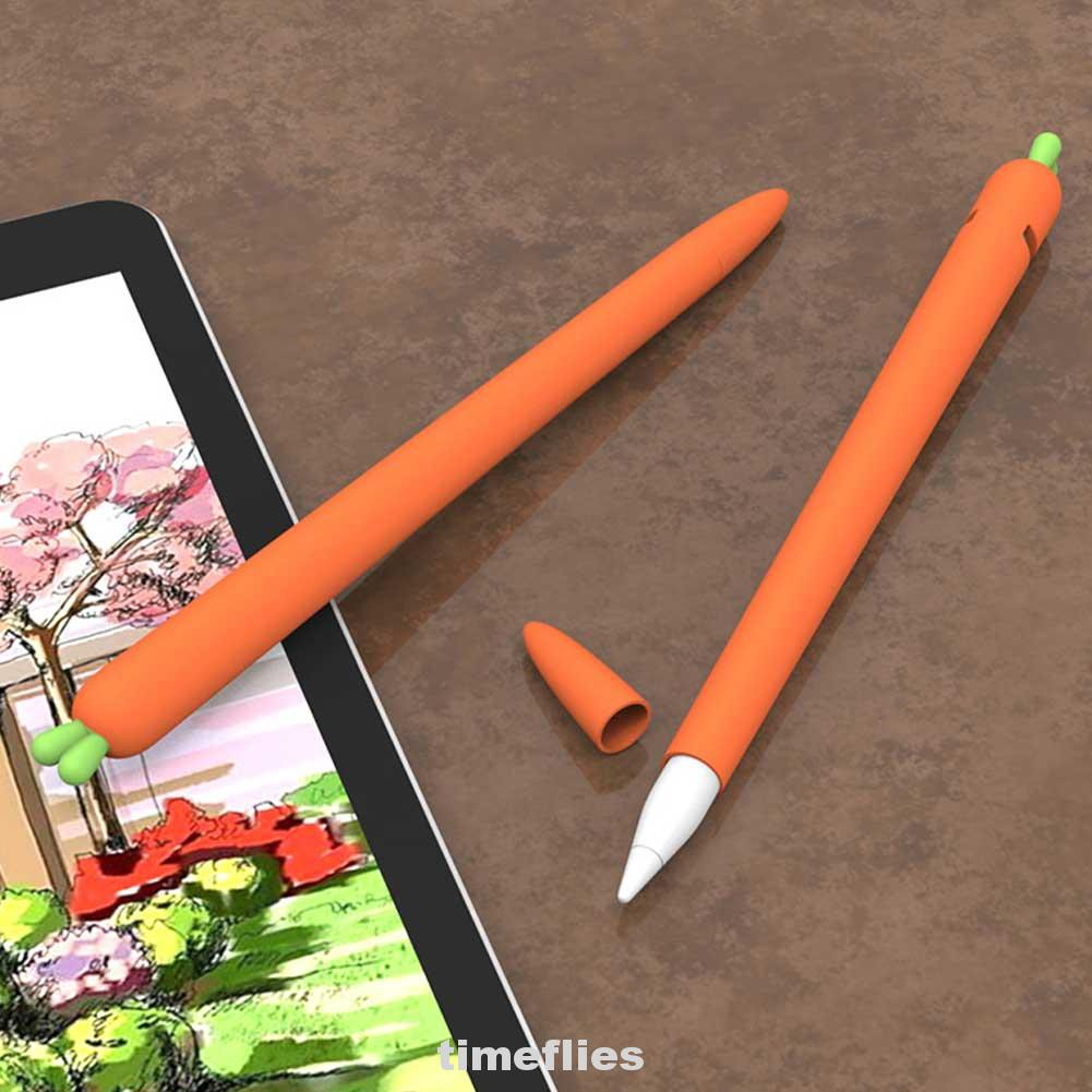 Protective Cover Silicone Anti-scratch Soft Accessories Thin Non-Slip For Apple Pencil 1st 2nd