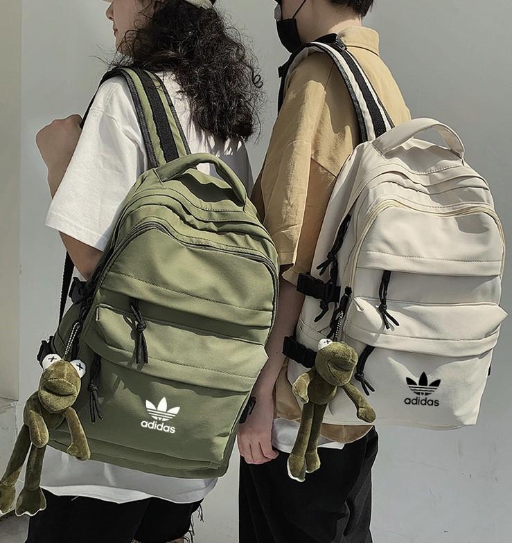 กระเป๋าเป้,ความจุสูง,ผู้ชายและผู้หญิงใหม่adidas Adidas clover backpack men and women backpack student schoolbag new larg