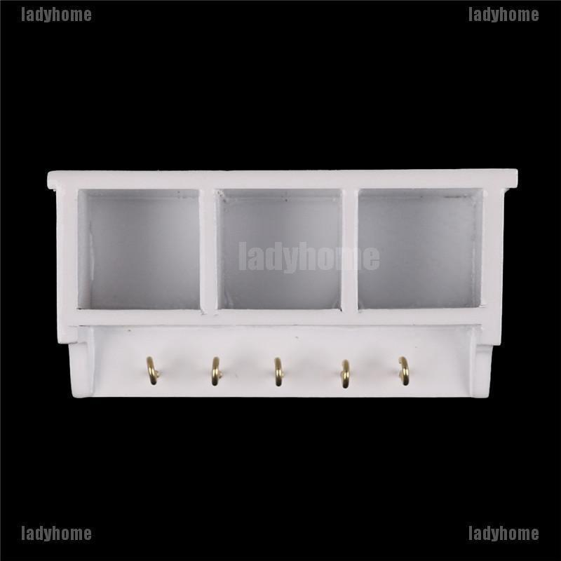 Miniature Kitchen Shelf Doll House Decoration 12th Scale Sehlves Flour Sugar