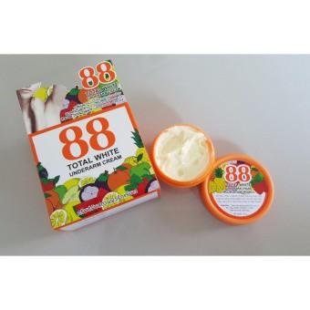 ◐♞☜ครีมรักแร้ขาว 88 Total White Underarm Cream ครีมปรับสภาพผิวรักแร้