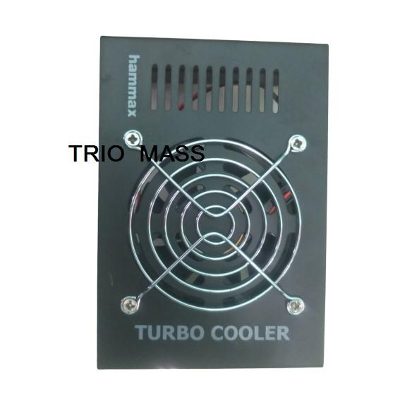 พัดลมระบายความร้อน TURBO COOLER ยี่ห้อ hammax ขนาดกลาง M