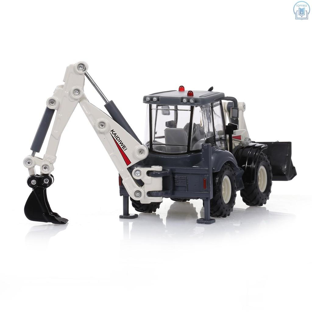 Kaidiwei 1 50 Scale Diecast Backhoe Forklift Truck Construction Toys Model