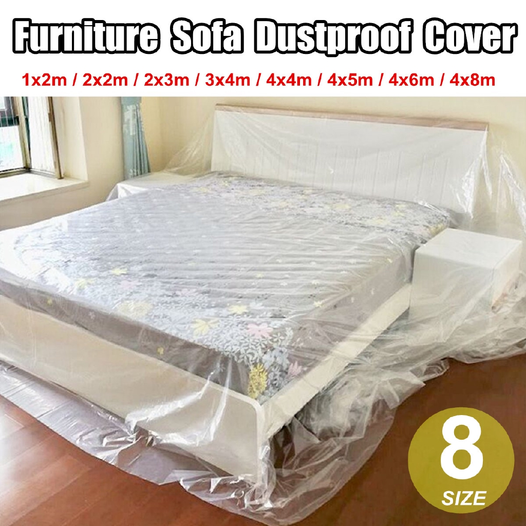 Furniture Sofa Bed Dining Chair Dust Storage /& Moving Removal Cover Bag 8 Size