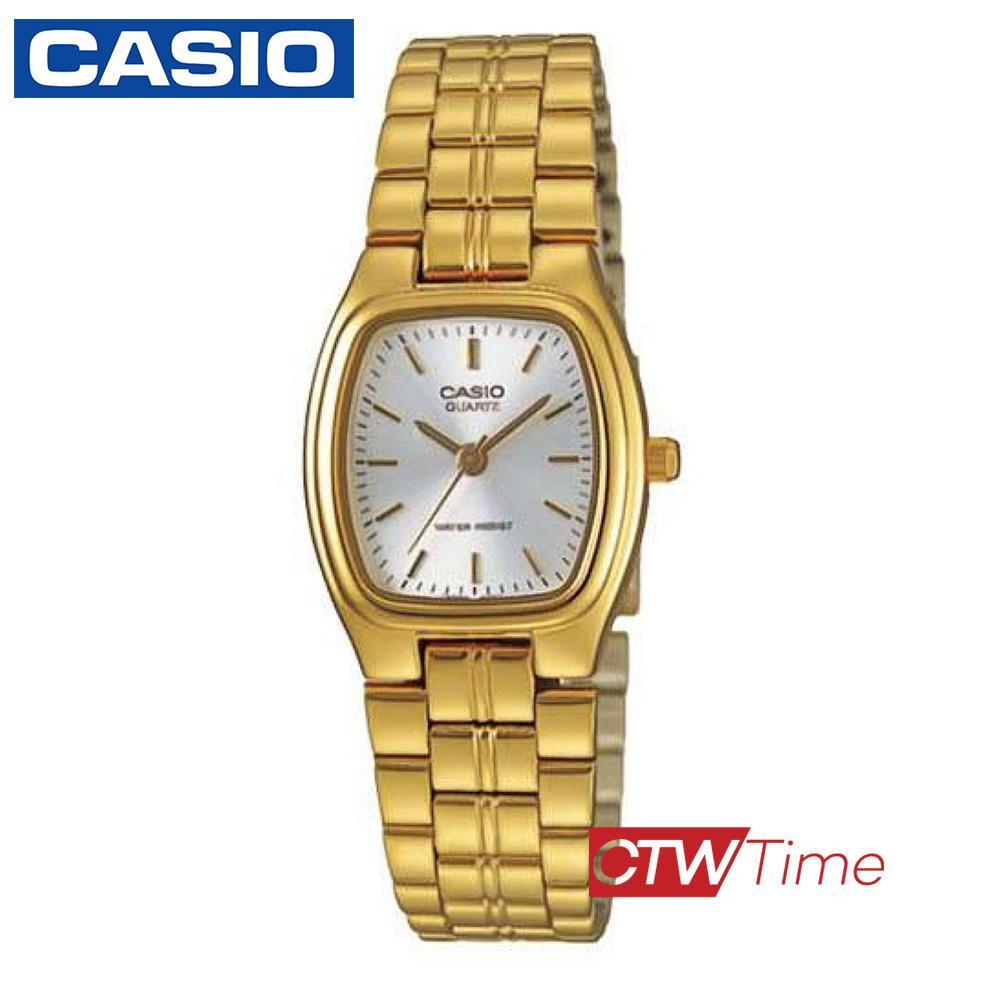 (จุดด่างพร้อย)ส่งฟรี !! Casio Standard นาฬิกาข้อมือสุภาพสตรี สายสแตนเลส รุ่น LTP-1169N