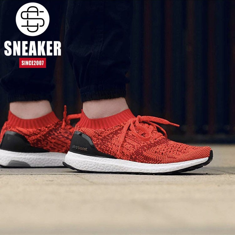 official photos b992a fff6a Purchasefromabroad แฟชั่นขายร้อน Adidas Ultra Boost ถุงเท้าสีแดง Uncaged  bb3899 รองเท้าวิ่ง