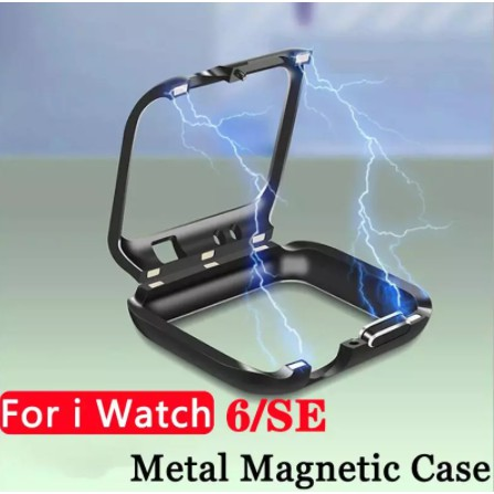 Magnetic Watch Case for Apple Watch Series Se 6 5 4 3 2 1  for Iwatch 44 mm 42mm 40 mm 38mm