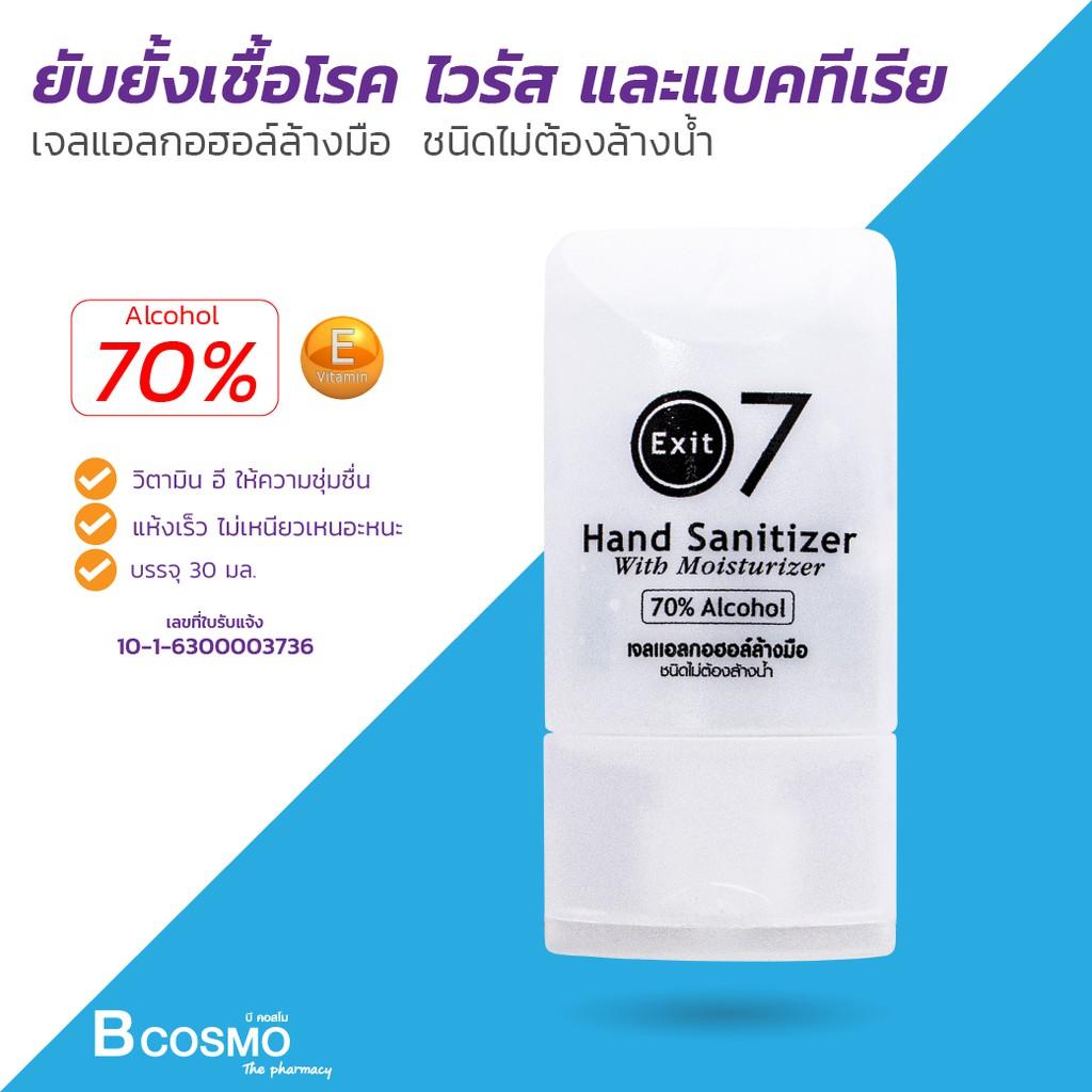 🔥โคตรคุ้ม ซื้อเก็บไม่เสียหาย🔥 เจลล้างมือพกพา แห้งเร็ว ไม่ต้องล้าง ชุ่มชื่นด้วยวิตตามิน E ลดการสะสมของแบคทีเรีย 99.99%