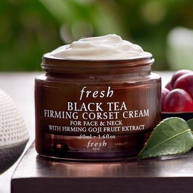 bdb9050aaed Fresh Black Tea Firming Corset Cream ขนาดทดลอง 7ml.