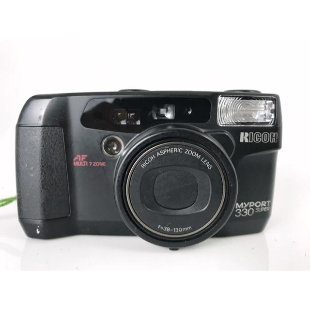 กล้องฟิล์ม RICOH MYPORT 330 SUPER 900฿