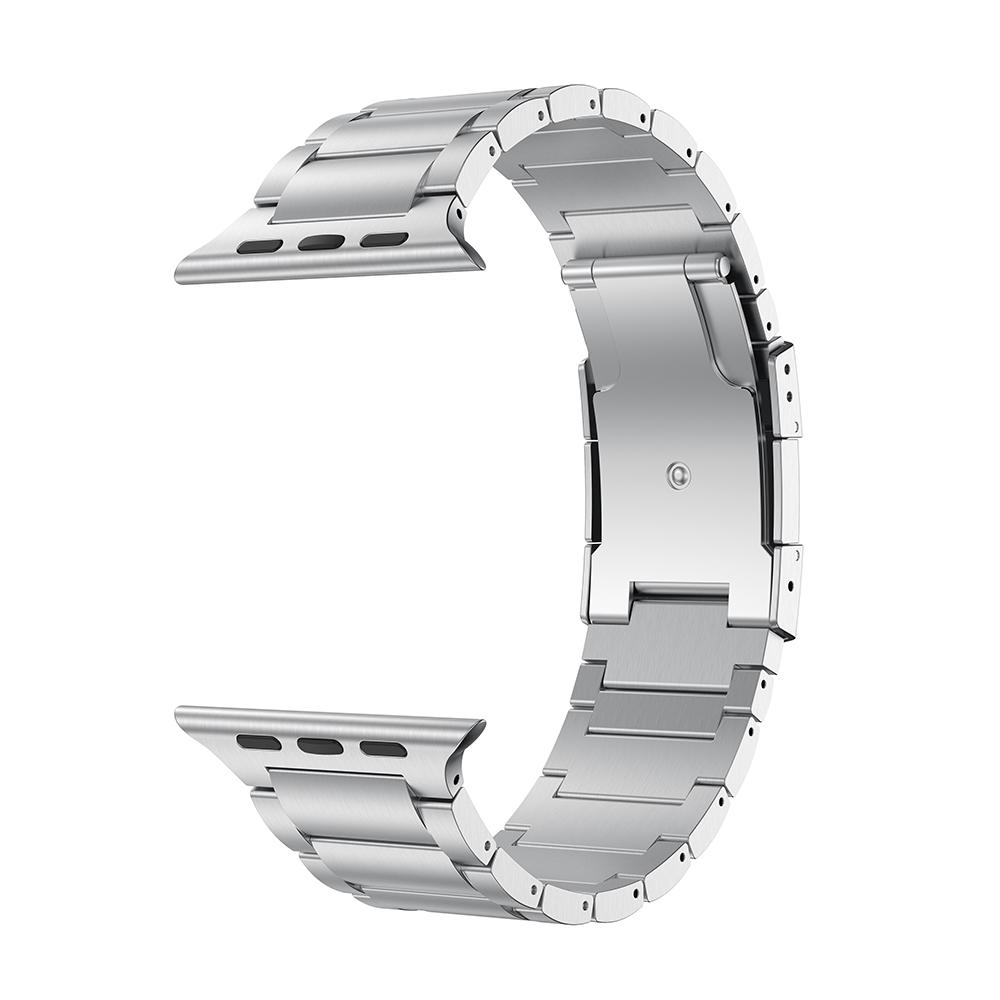 ☢ΥIWatch สายรัดโลหะไทเทเนียม applewatch6 APPLE WATCH 6/5/4/SE รุ่น42/38/40/44mm
