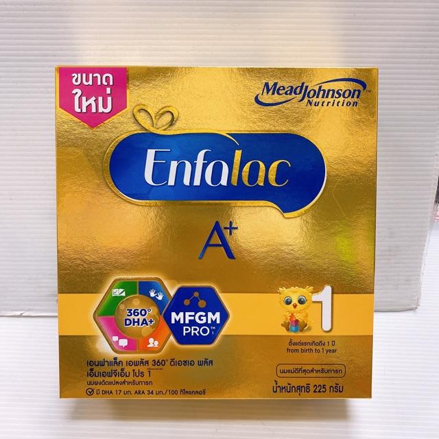 Enfalac1 A+ เอาฟาแลค เอพลัส สูตร1 (225กรัม)