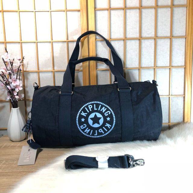 Kipling Onalo multifunctional duffle bag M กระเป๋าเดินทางหรือฟิตเนส แบบถือ ขยาด M สีกรมท่า