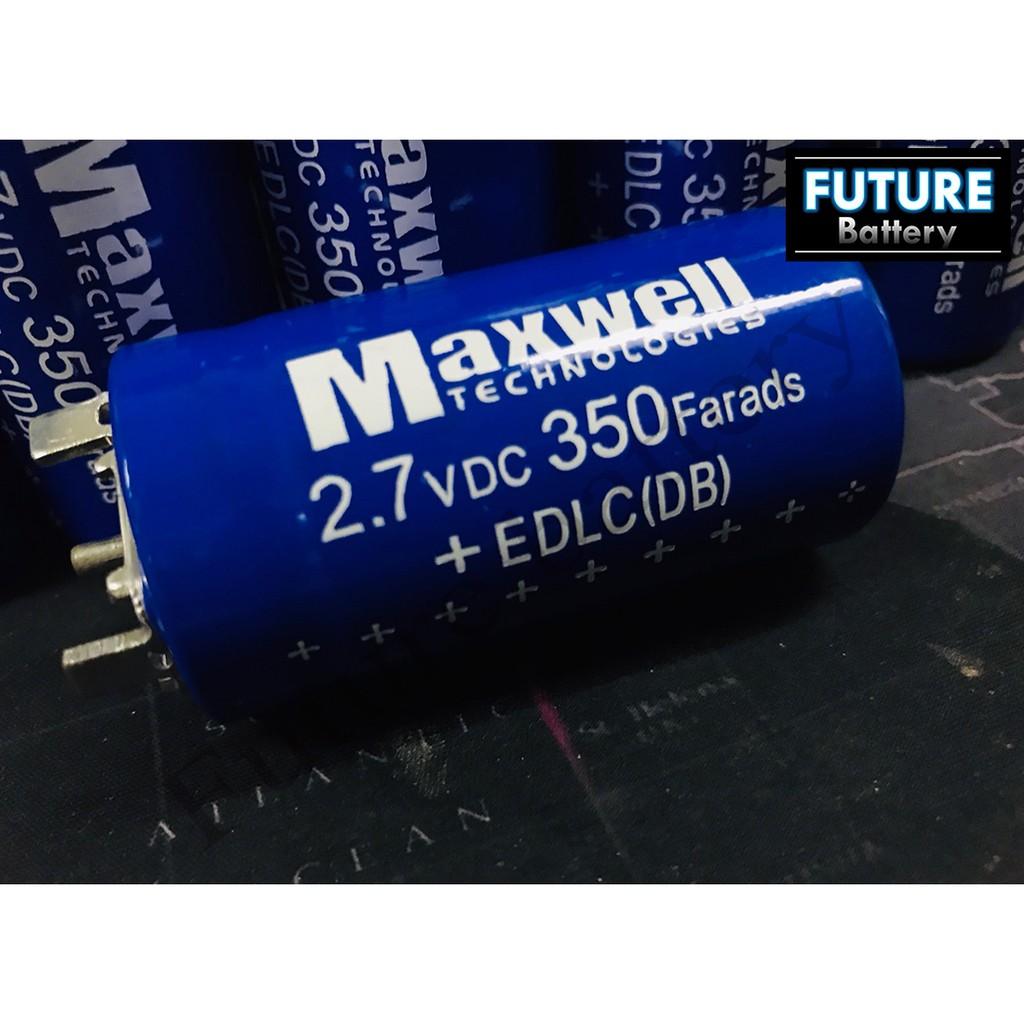 MaxWell Super Capacitor 2 7V 350F