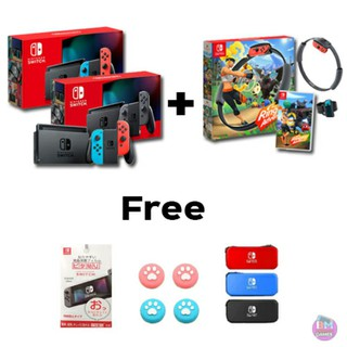 ++ Nintendo switch + GAME Ring fit adventure++  พร้อมส่งคะ