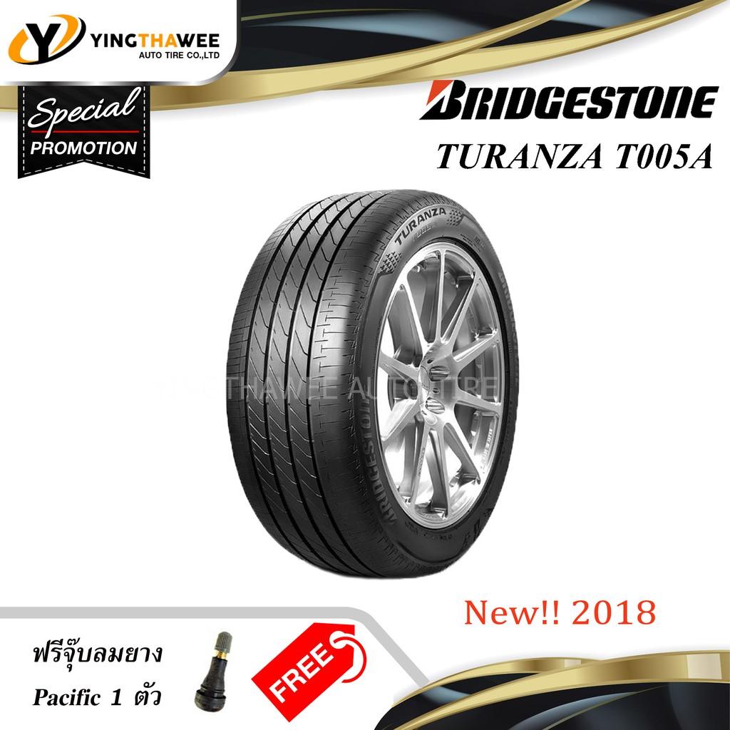 [จัดส่งฟรี] BRIDGESTONE 215/50R17 ยางรถยนต์ รุ่น TURANZA T005A จำนวน 1 เส้น [ฟรีจุ๊บลมยาง 1 ตัว]