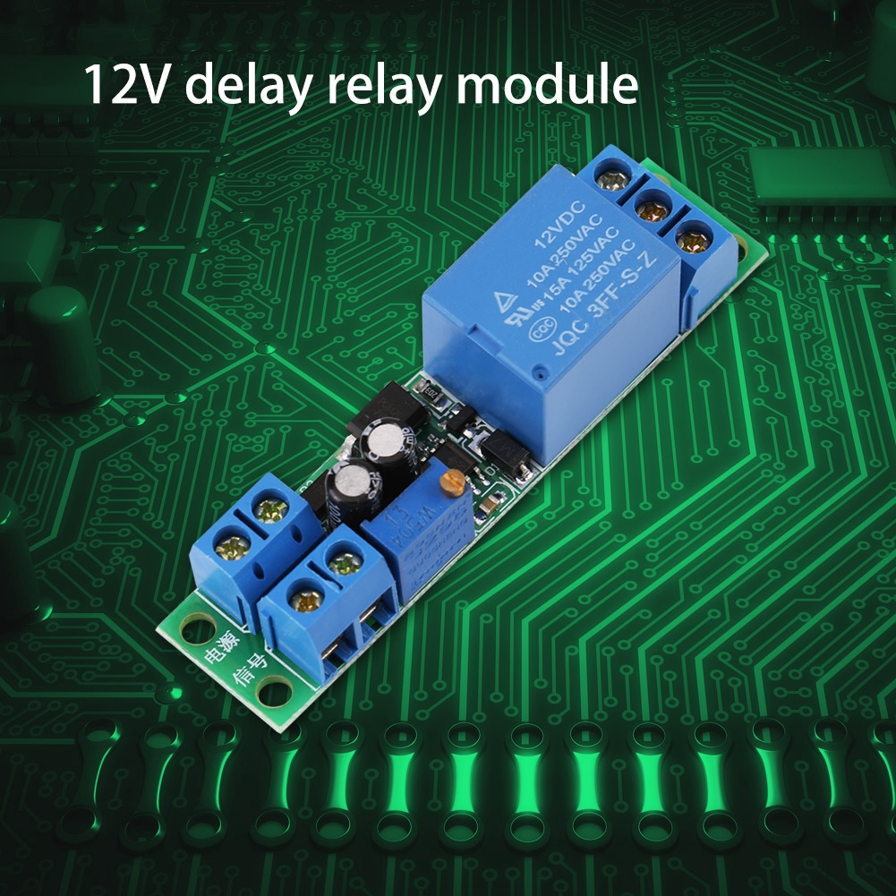 [Wholesale Price] DC Adjustable Signal Trigger Turn off Delay Timer Switch  Relay Module 40V