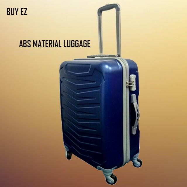 กระเป๋าเดินทาง 4 ล้อขนาด 24 นิ้ว Robert Ansell 2017 Abs แบบแข็ง Hq