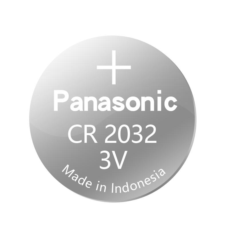 ถ่านCR20323V พานาโซนิค แบตเตอรี่ปุ่ม CR2032 กุญแจรถรีโมทเครื่องชั่งน้ำหนักอิเล็กทรอนิกส์ 3V ลิเธียม 2023 กล่องข้าวฟ่าง