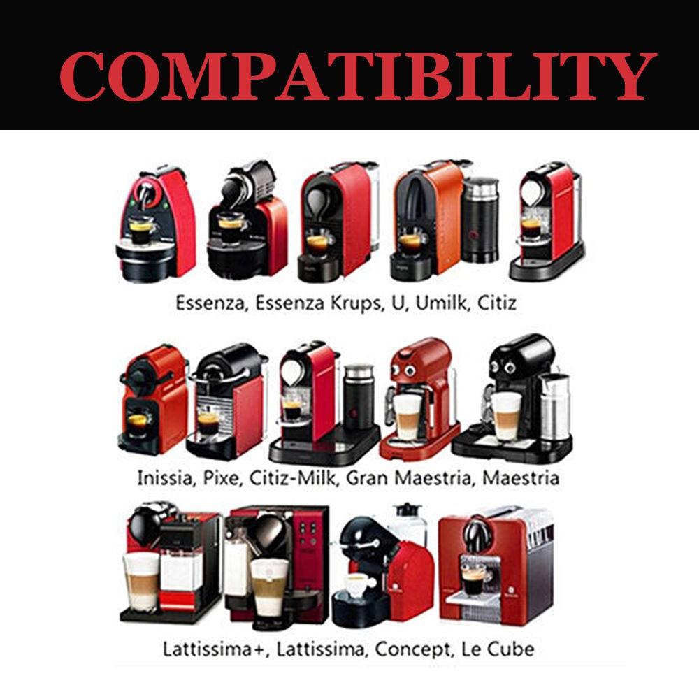 นิยม! capsule nespresso  reuseable ถ่วยรีฟิล ใช้สำหรับเครื่องทำกาแฟ Nespresso ถูกสุด!