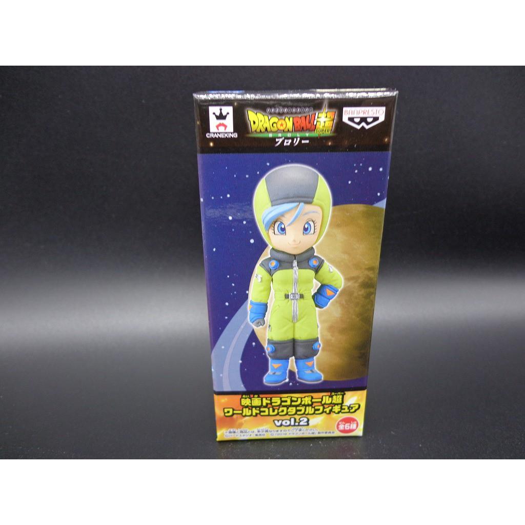 [ส่งจากญี่ปุ่น] โมเดลฟิกเกอร์ Dragonball Super Wcf World Vol.2 Bulma