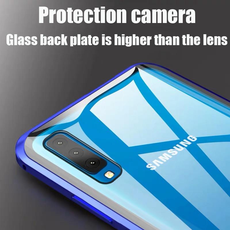 เคสโทรศัพท์มือถือแบบสองด้านสําหรับ Samsung Galaxy A10 A10S