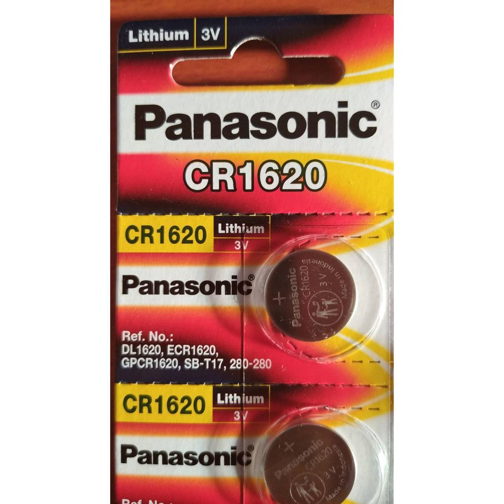 **แบ่งขาย 1 ก้อน** ถ่านเม็ดกระดุม พานาโซนิค PANASONIC CR-2016 CR-2025 CR-2032 CR-1620 CR-1632 CR-1616 **ราคาต่อ 1 ก้อน**