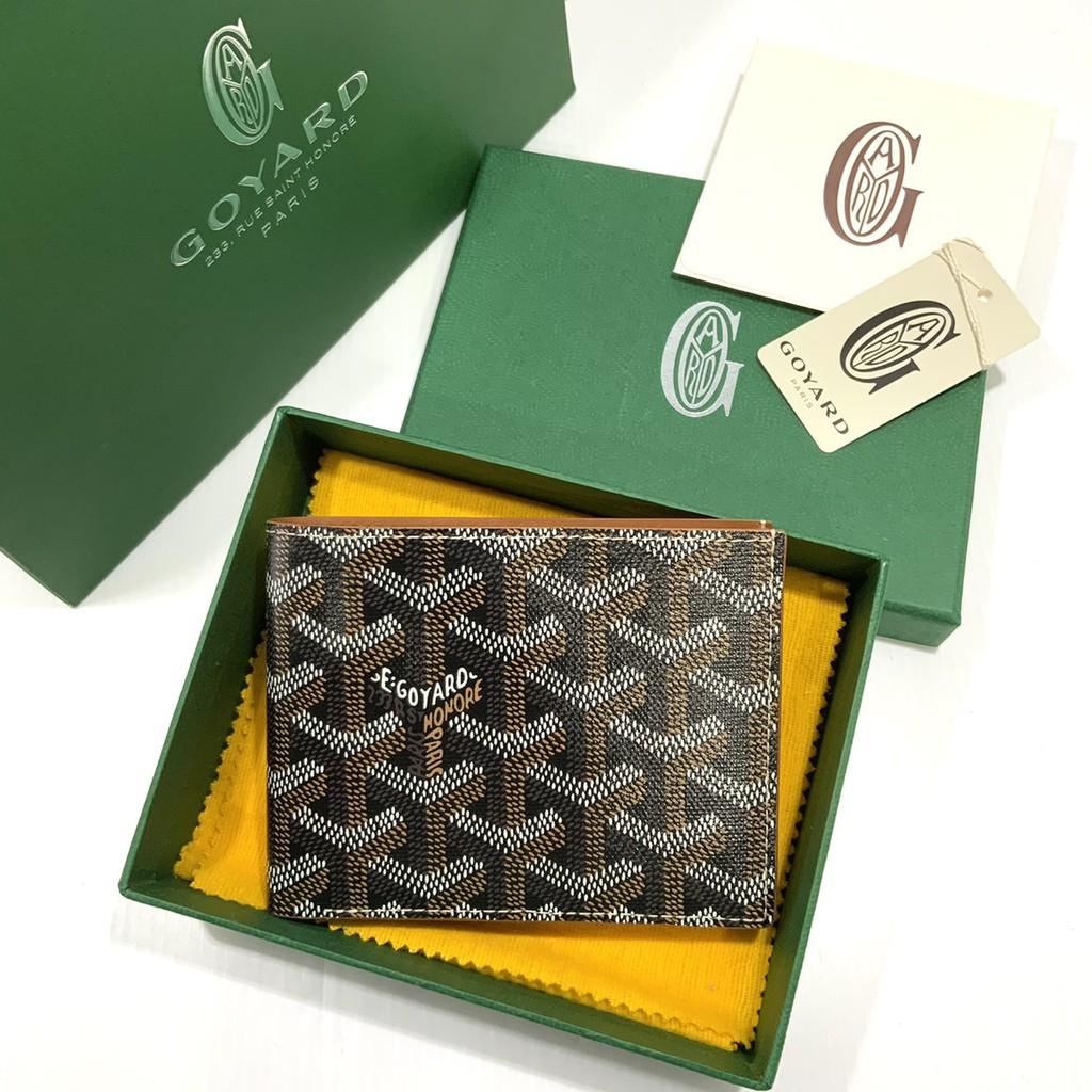 Goyard Wallet อุปกรณ์ กล่อง การ์ด ผ้าคลุม ถุงกระดาษ