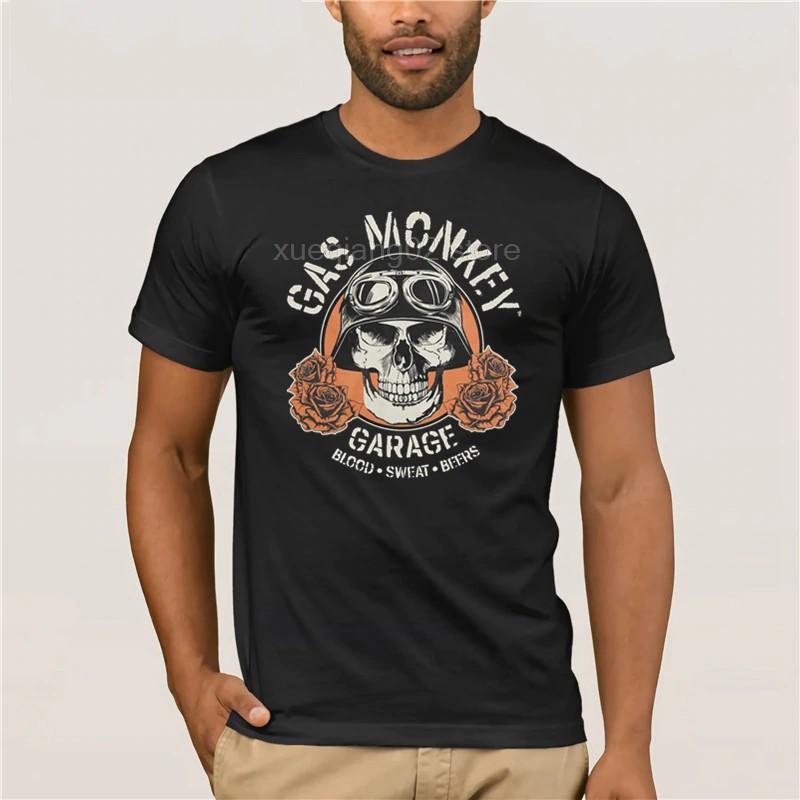 Uomo T-shirt Gas Monkey Garage