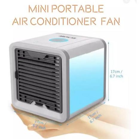 ARCTIC AIR พัดลมไอน้ำตั้งโต๊ะ แอร์พกพา พัดลมแอร์เย็น เครื่องทำความเย็น แอร์พกพา