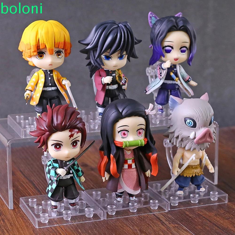 ღღ[COD] PVC Anime Demon Slayer Demon Blade Toy Figures Action Figure Toys Shinobu Agatsuma Collection Doll Doll Ornament