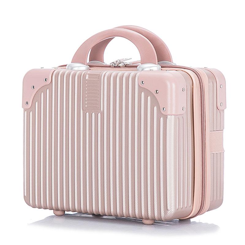 ゅ+นางสาวกระเป๋า  กระเป๋าสีแดง กระเป๋าแต่งงาน ย้อนยุคมินิกระเป๋า14นิ้วกรณีเครื่องสำอางแต่งงานสินสอดทองหมั้นเดินทางกล่องเล