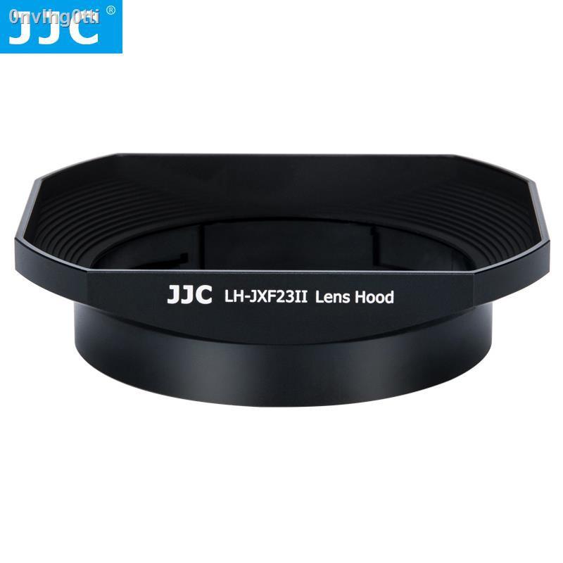 【Lowest price】♦✶✉JJC เหมาะสำหรับ Fuji XF23mmF1.4 เลนส์ฮูด XF56F1.2R APD ทั่วไป X-PRO2 XT30 XT4 X-T4 กล้อง