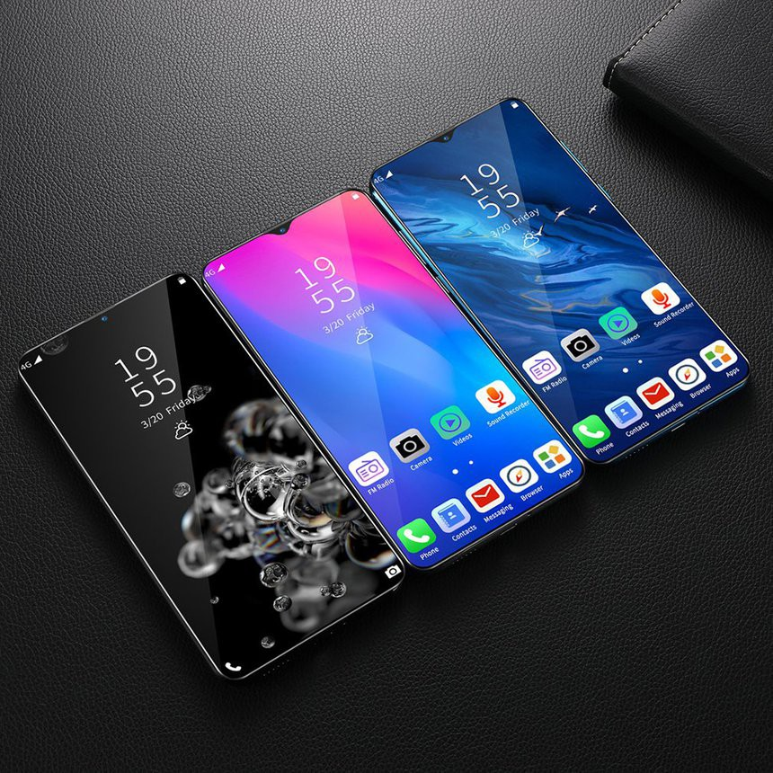โทรศัพท์มือถือ Nowa6 Pro Smartphone 6.3 Inch Screen Android Phone 8+128G Dual Sim Card