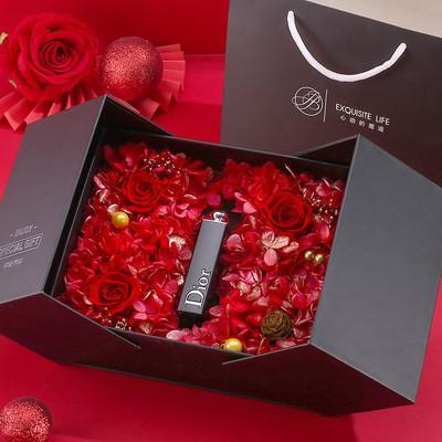 웃⋛Dior Lipstick 999ให้ความชุ่มชื้น Matte Velvet 520 Big Brand ของแท้888 Gift Box Set 740 Limited Edition