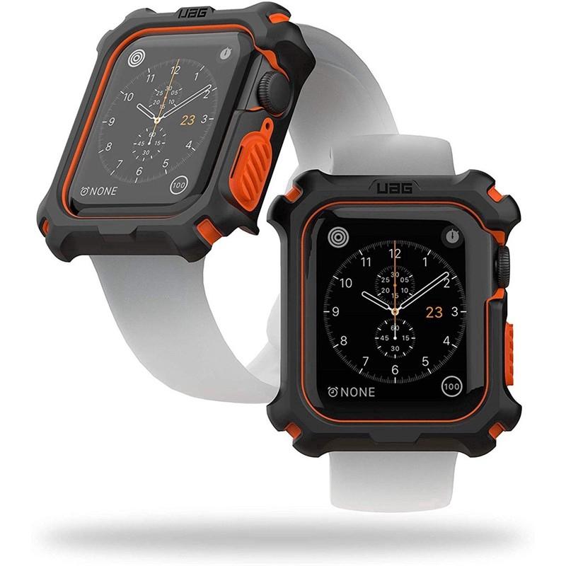 【Ready stock】 UAGปลอกป้องกันการตก watch case for Apple Watch Series 42 / 44mm Apple Watch Sport Series 4/5  iWatch Protector Cover