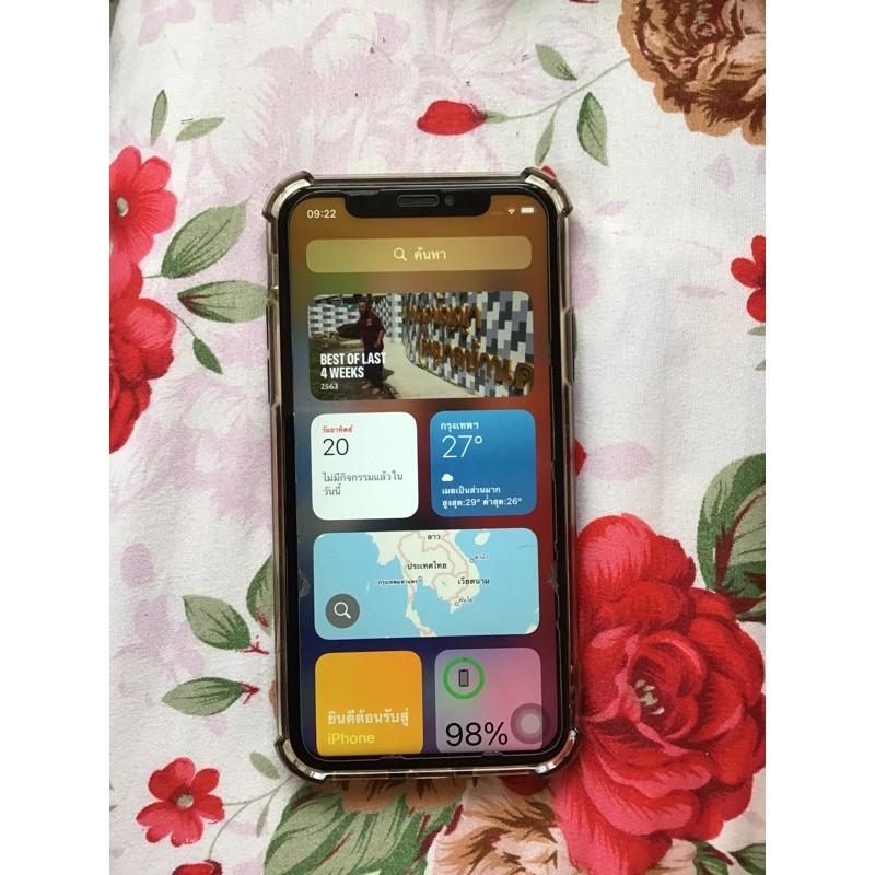 iPhone X / ไอโฟนxมือสอง 64gb