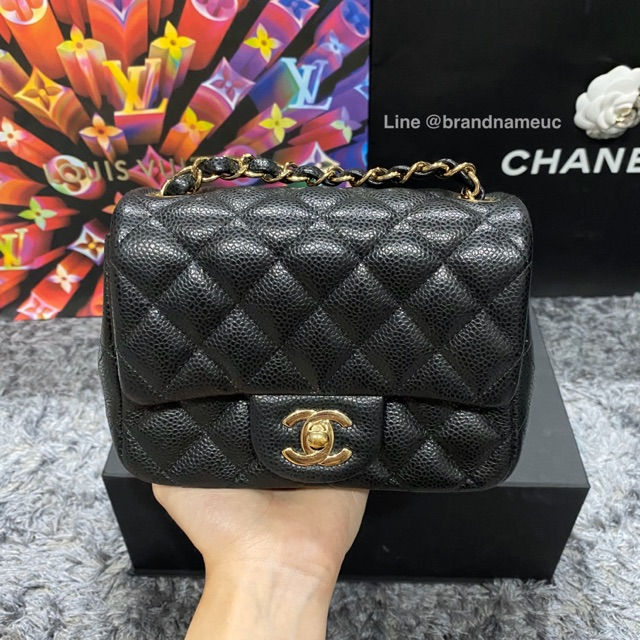 "Chanel mini 7"" holo 25"