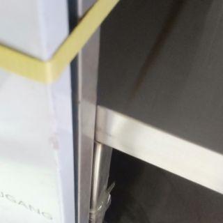โต๊ะเตรียมอาหารสแตนเลสแบบเปิด2ฝั่ง1.5x0.8x0.8mเลื่อนนิ้วลง1ครั้งจะพบราคาผ่อนx10