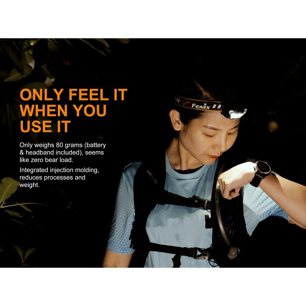 ไฟฉายคาดหัว Fenix HL18R สินค้าตัวแทนในไทยมีประกัน 3 ปี