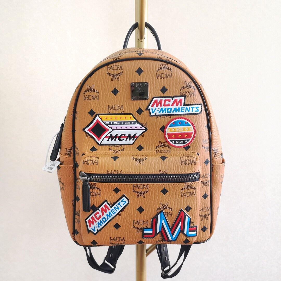 pre-order MCMกระเป๋าถือหนังแท้กระเป๋าเป้ กระเป๋าเดินทาง แบรนด์เนน