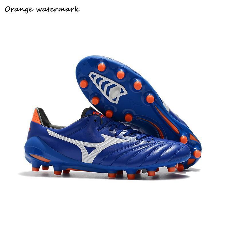 ❤มีสินค้า❤จัดส่งที่รวดเร็ว 2019 Mizuno Morelia Neo II Made in Japan รองเท้าผู้ชาย รองเท้าฟุตบอล 39-45