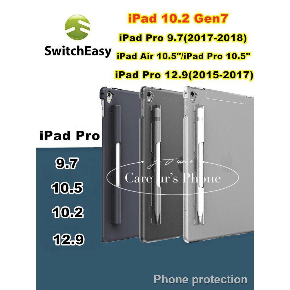 ราคาขายส่ง☂iPad 10.2 Gen 7 แท้100% SwitchEasy Casing Cover Buddy พร้อมที่เก็บ Apple Pencil ในตัว