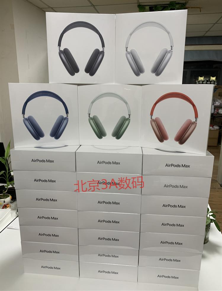 ≔✂ติดหัวบลูทู ธNew Apple/Apple AirPods Max Wireless Bluetooth Charging Headset iphone Headset Noise Reduction