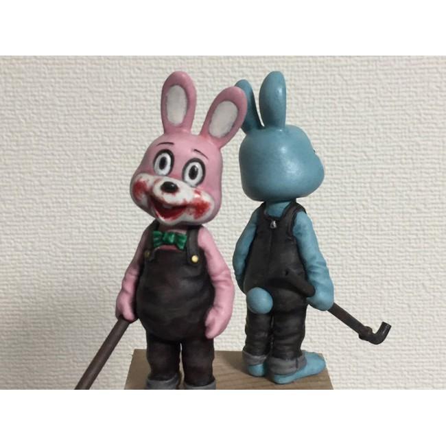 ✗♀℡GK Garage Resin Figure 1/35 SILENT HILL Robbie Rabbit Unpainted Model Kit