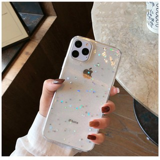 Review IPhone 11 Pro+ XS Max iPhone XR iPhone 6 6S Plus iPhone 7 Plus iPhone 8 Plus Samsung Bling Star Glitter Fashion Luxury