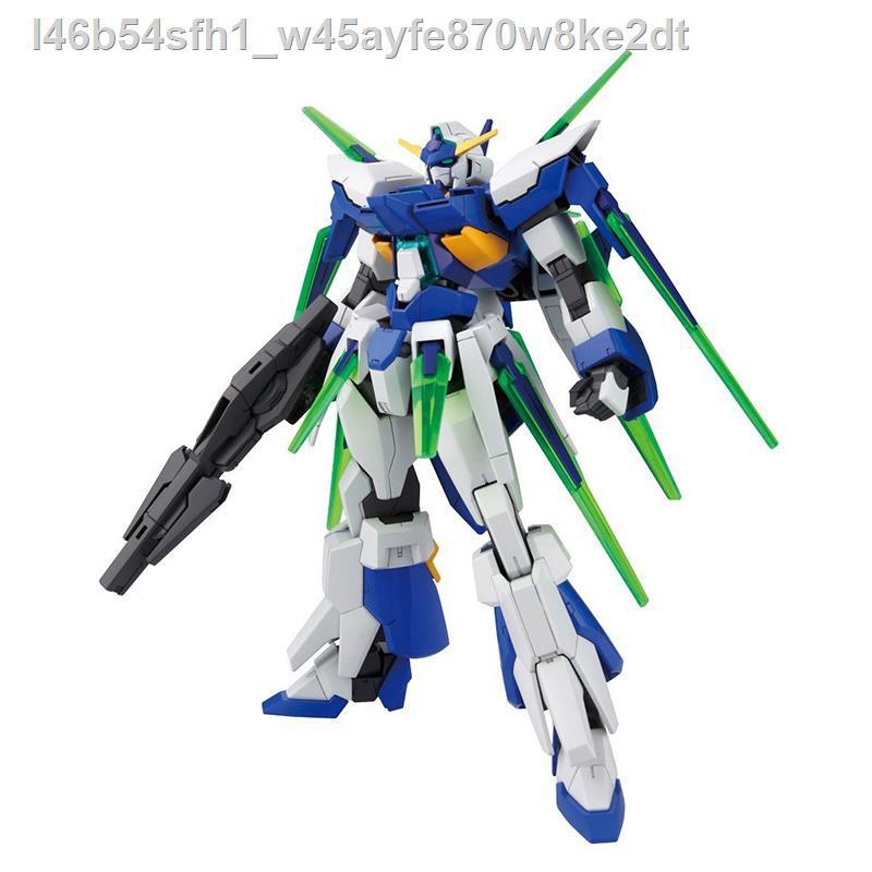 【ตัวละครอนิเมะ】┅Bandai Assembly Model HG 1/144 AGE-27 Gundam AGE-FX Final Form