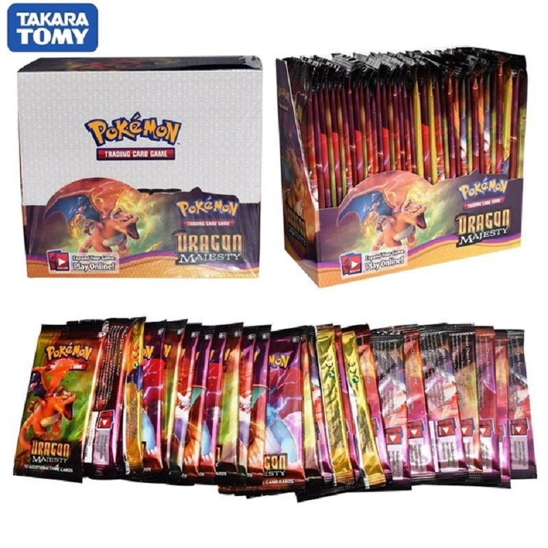 324pcs Pokemon cards All series TCG: Sun & Moon Series Evolutions Booster Box Collectible Trading Card Pokemon Game Kids