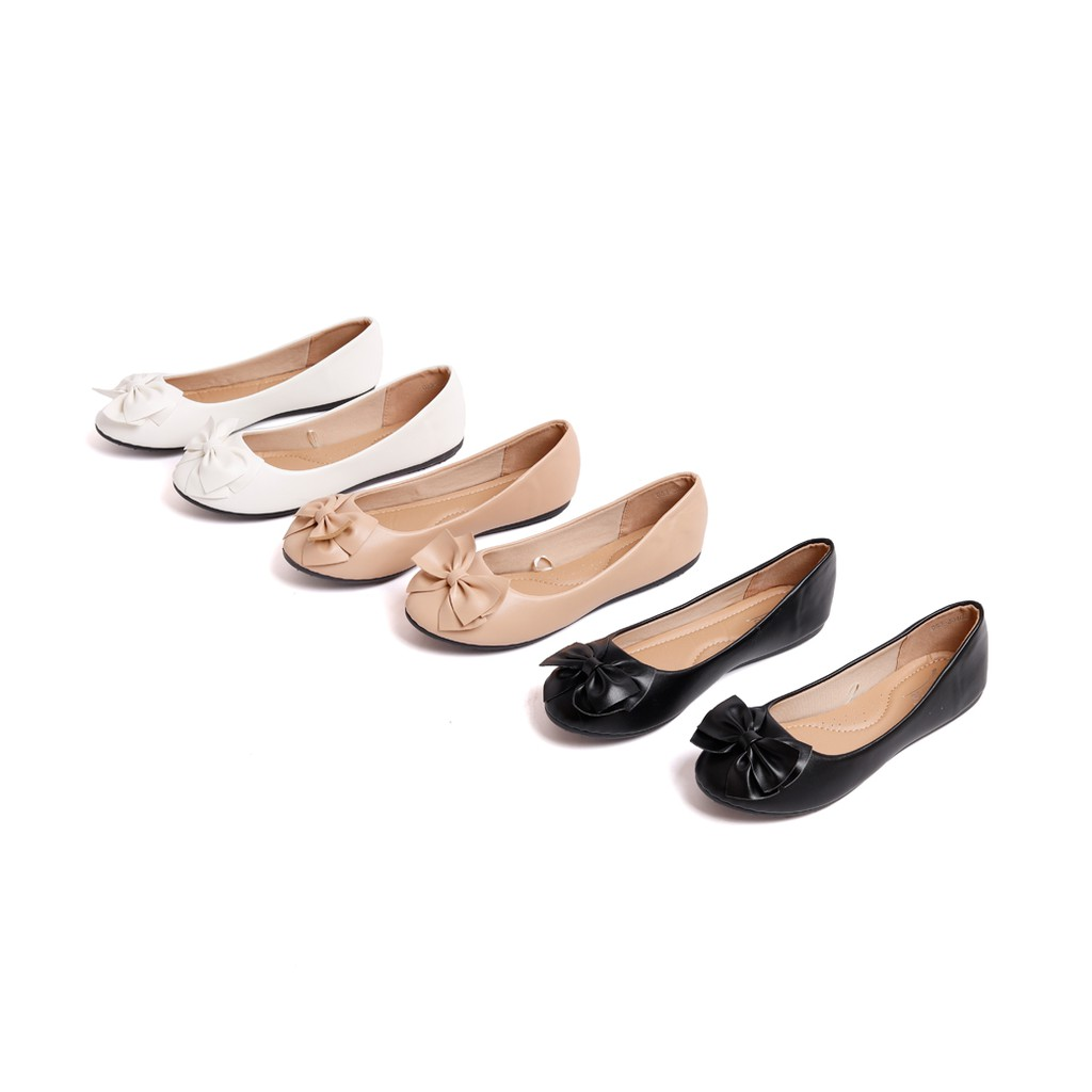 D'ARTE (ดาร์เต้) รองเท้าคัชชู รองเท้าคัชชูผู้หญิง รองเท้าคัชชูผู้หญิงแฟชั่น รองเท้าส้นแบบ รองเท้าส้นเตี้ย รุ่น D53-20402