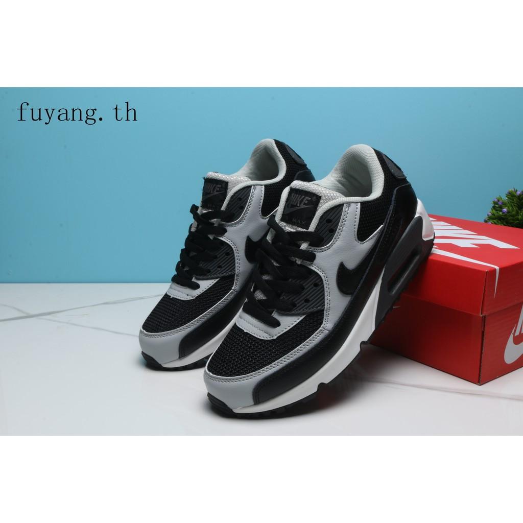 รองเท้าลำลองผู้ชาย NIKE AIR MAX90 Y551 Leisure Motion Cushion รองเท้าออกกำลังกาย 28